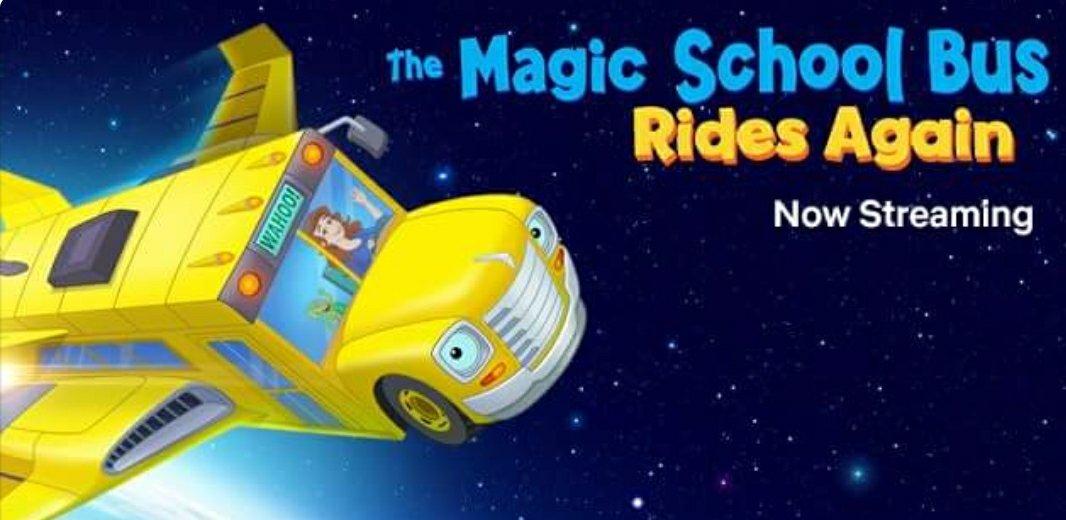 The Magic School Bus Rides Again on Netflix!