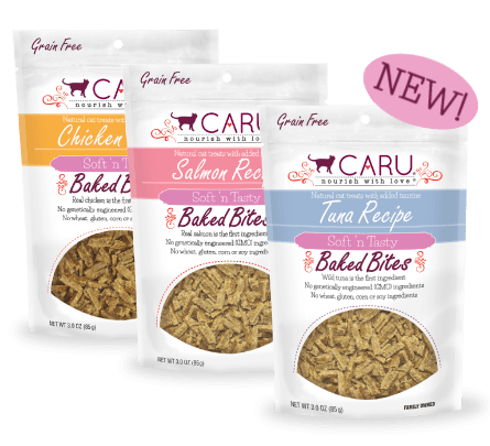 Review of Caru's Natural Treats for Cats & Giveaway