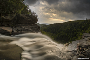 From the Top of Kaaterskill Falls