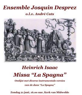 Affiche Missa la Spagna Midwolde-1-1