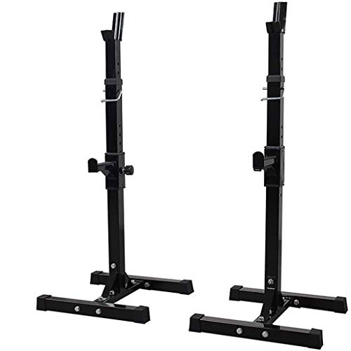 timegard professional multi function adjustable squat rack barbell free bench press portable dumbbell rack indoor home cats luv us deals