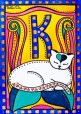 Peace and Love, Cat Art by Dora Hathazi Mendes
