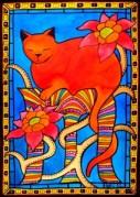 Cat Art Sleeping Beauty By Dora Hathazi Mendes