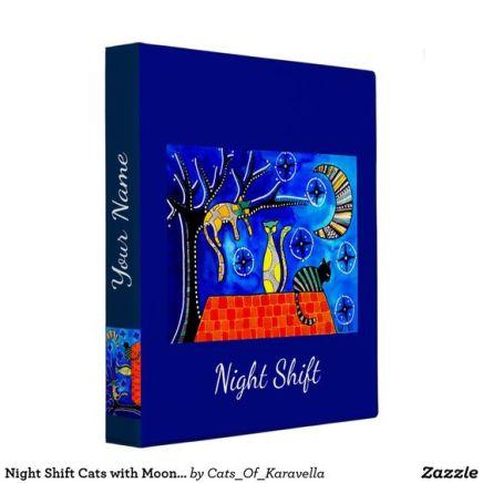 Night Shift Cats of Karavella Binder