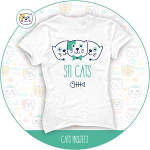 tshirt-sti-cats-catsproject