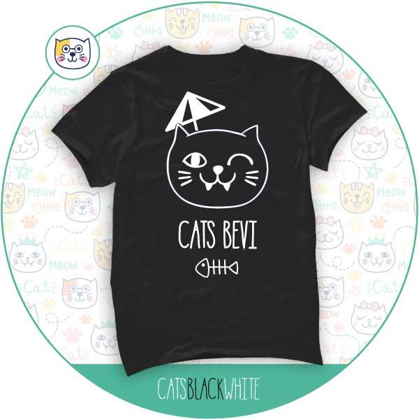 T-Shirt Cats Bevi