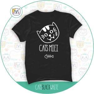 T-Shirt Cats Miei