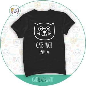 T-Shirt Cats Vuoi