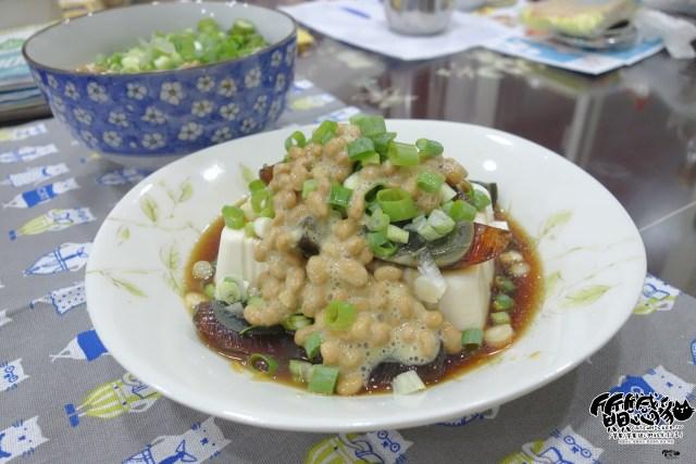 納豆皮蛋豆腐