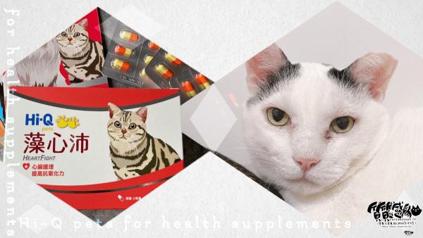 Hi-Q pets藻心沛|寵貓狗護心保養好物