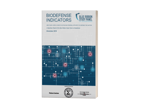 Biodefense Indicators – One Year Later, Events Outpacing Federal Efforts to Defend the Nation <br>(Potomac Institute for Policy Studies)
