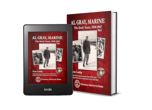 Al Gray, Marine: The Early Years 1950-1967, Vol.1