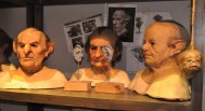 Props & makeup - Goblin faces and shrunken heads