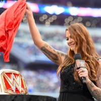 Your Monday Post #154: Lita Reveals the Newly Christened WWE Womens Championship at WrestleMania 32 (April, 3rd 2016)