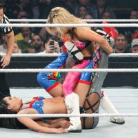 Cattie's Catch Up: Naomi vs Natalya vs Brie Bella vs AJ Lee for the Divas Championship at Night of Champions 2013 (September, 15th 2013)