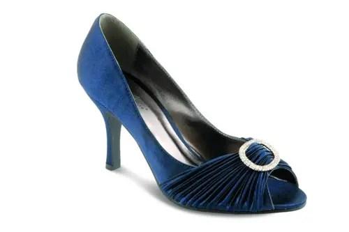 Lunar ruched shoes & bag