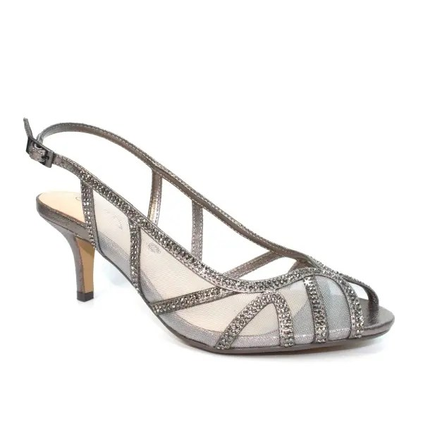 Miley Wide Fitting Sandal  Pewter