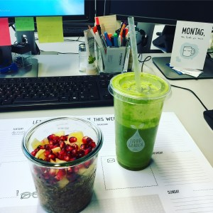 Forever Young Smoothie und Overnight Oats