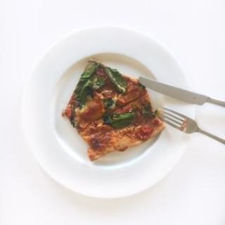 Clean Eating Vollkorn Pizza