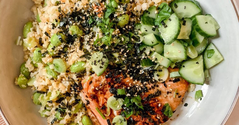 Easy Teriyaki-Glazed Salmon Bowls