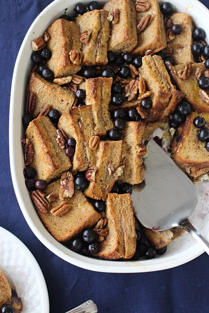 Butter Pecan Overnight French Toast