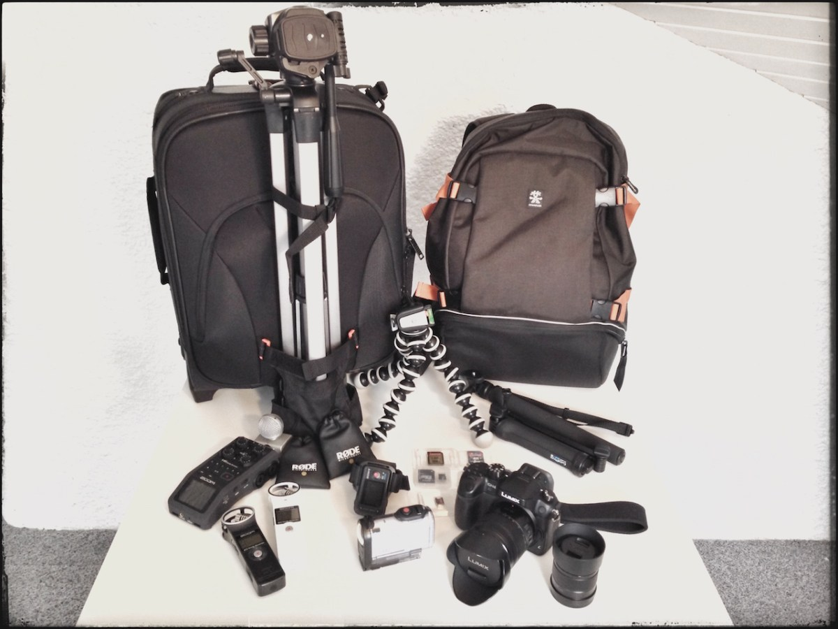 Cat's vlogging / blogging gear