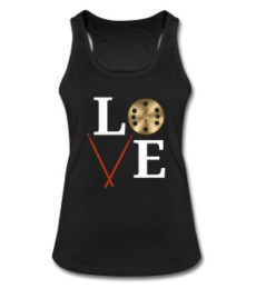 LOVE tank top © Cat with Hats