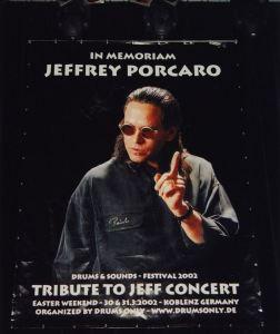 Jeff Porcaro Memorial Concert © Drums Only Koblenz