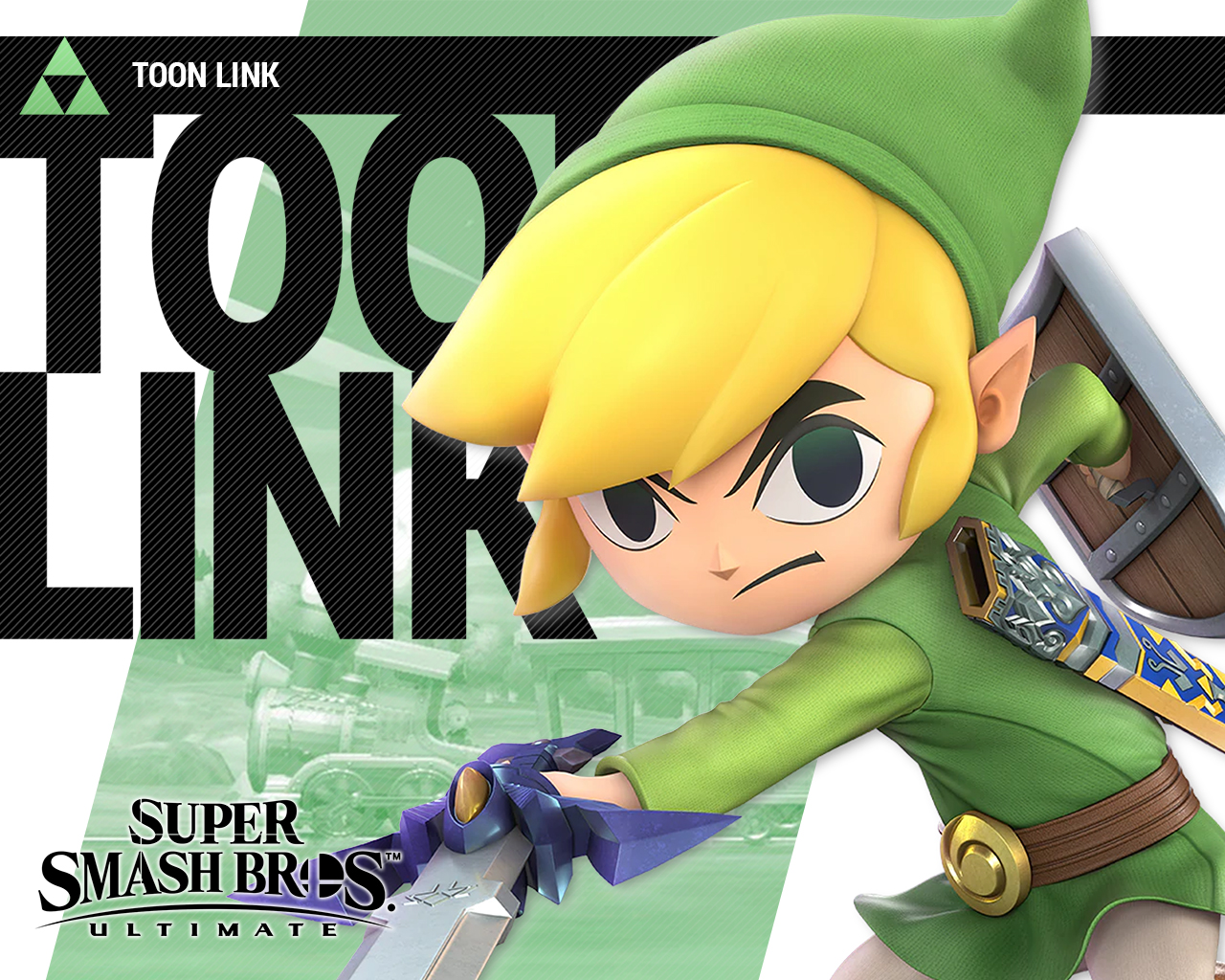 Super Smash Bros Ultimate Toon Link Wallpapers Cat With