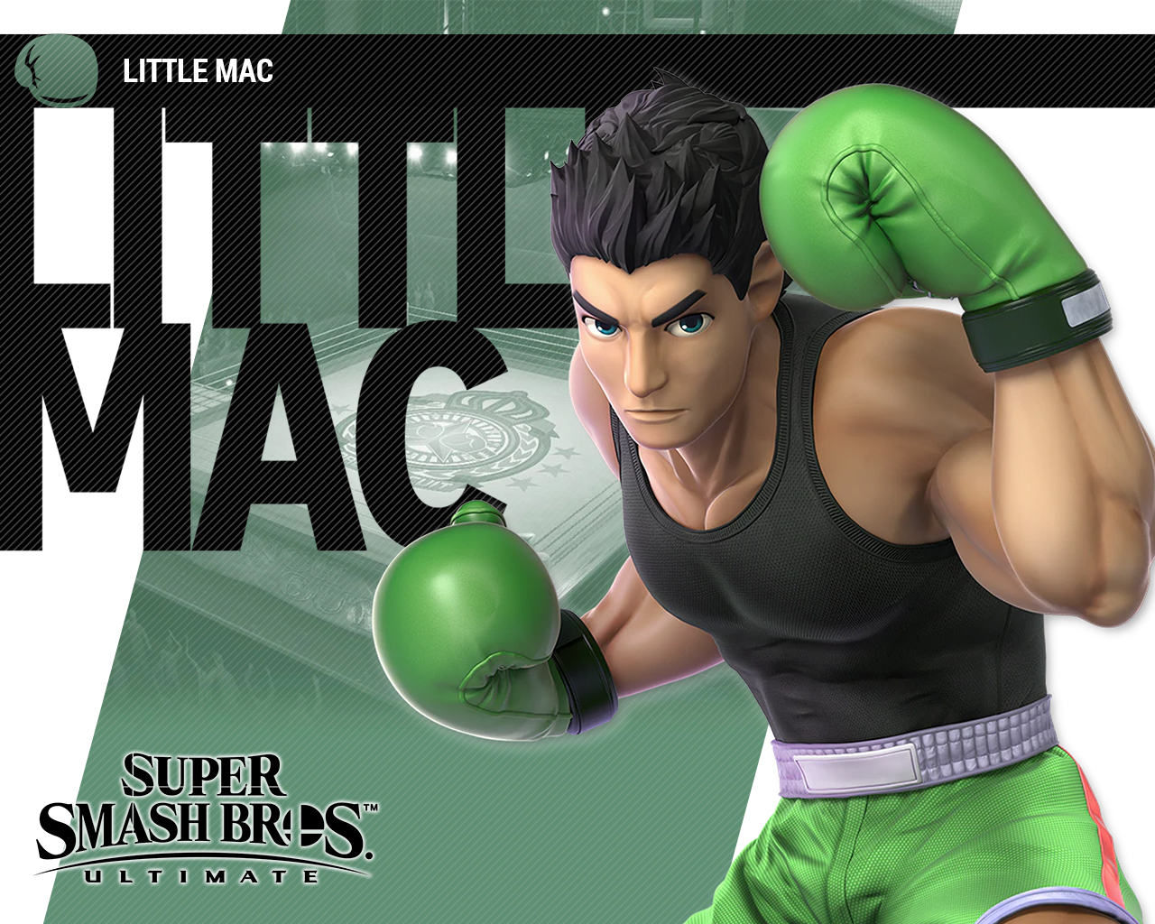 Super Smash Bros Ultimate Little Mac Wallpapers Cat With Monocle