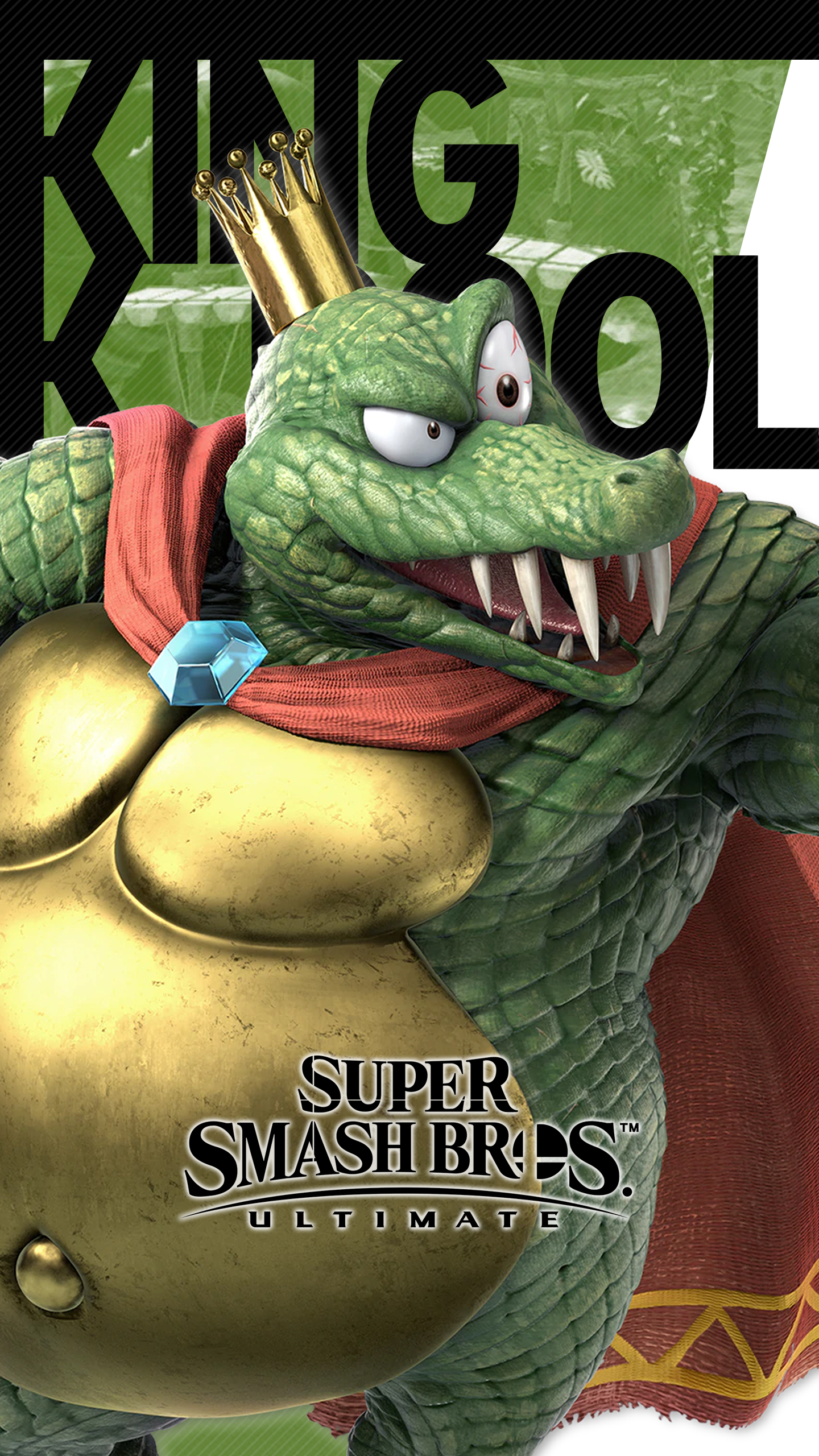 Super Smash Bros Ultimate King K Rool Wallpapers Cat With Monocle