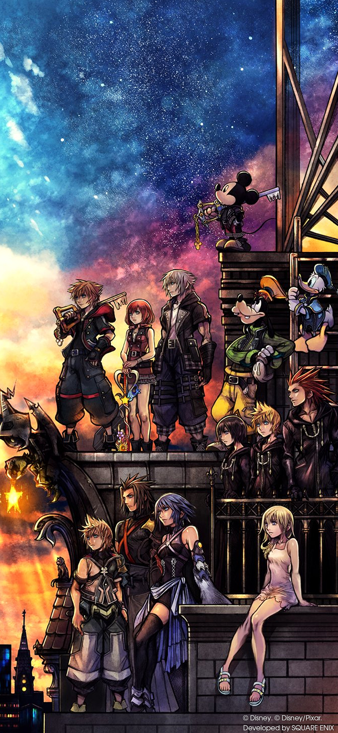Kingdom Hearts Iii Wallpaper Cover Art Wallpaper Cat