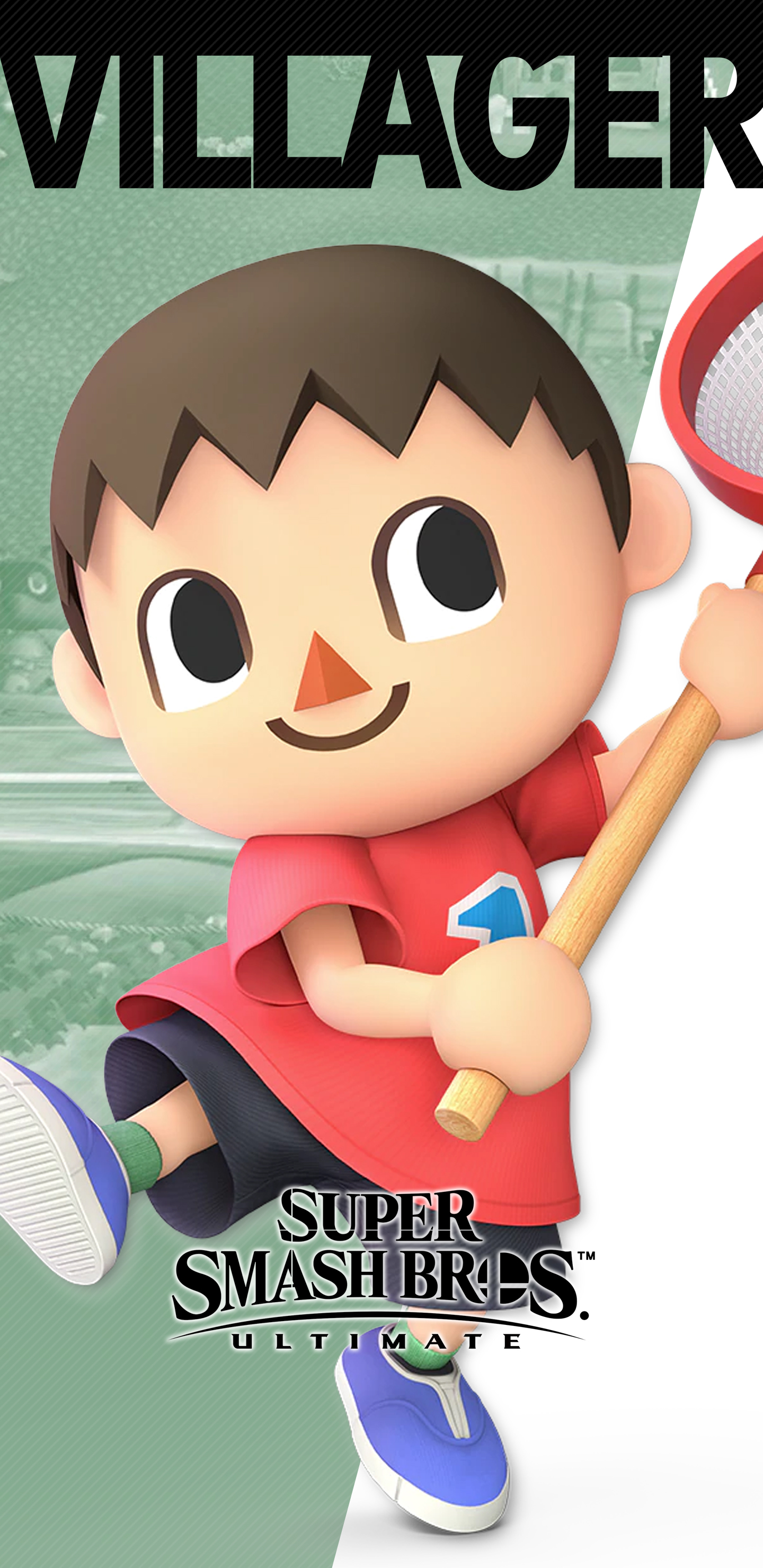 Super Smash Bros Ultimate Villager Wallpapers Cat With Monocle
