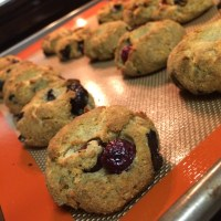 Paleo Blueberry Biscuits