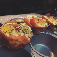 Prosciutto Wrapped Egg Muffins