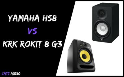 Yamaha HS8 vs KRK Rokit 8 G3