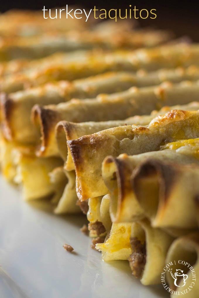 Turkey Taquitos | Catz in the Kitchen | catzinthekitchen.com | #taquitos #turkey #Mexican