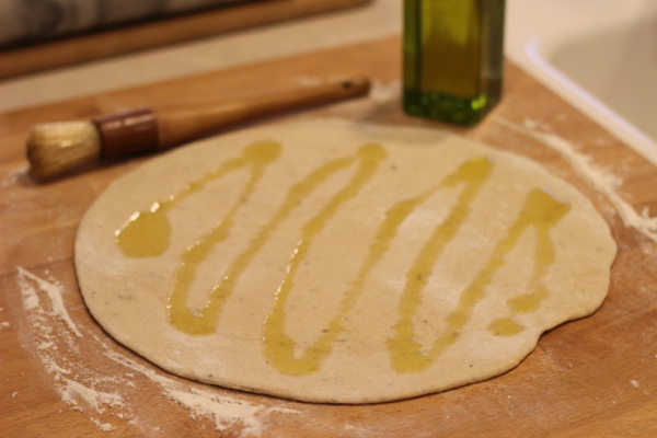 caprese pizza dough