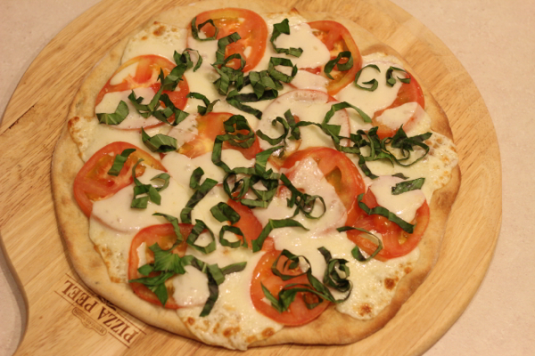 caprese pizza recipe