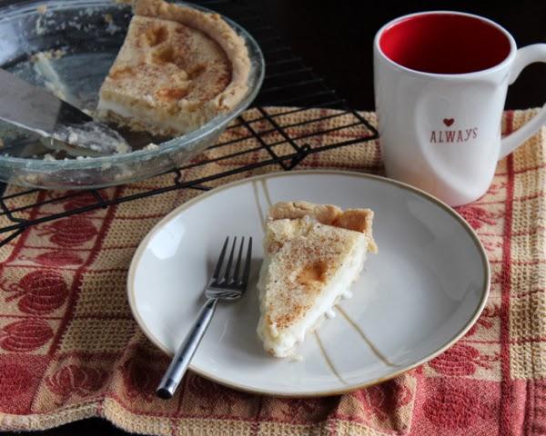 easy sugar cream pie recipe
