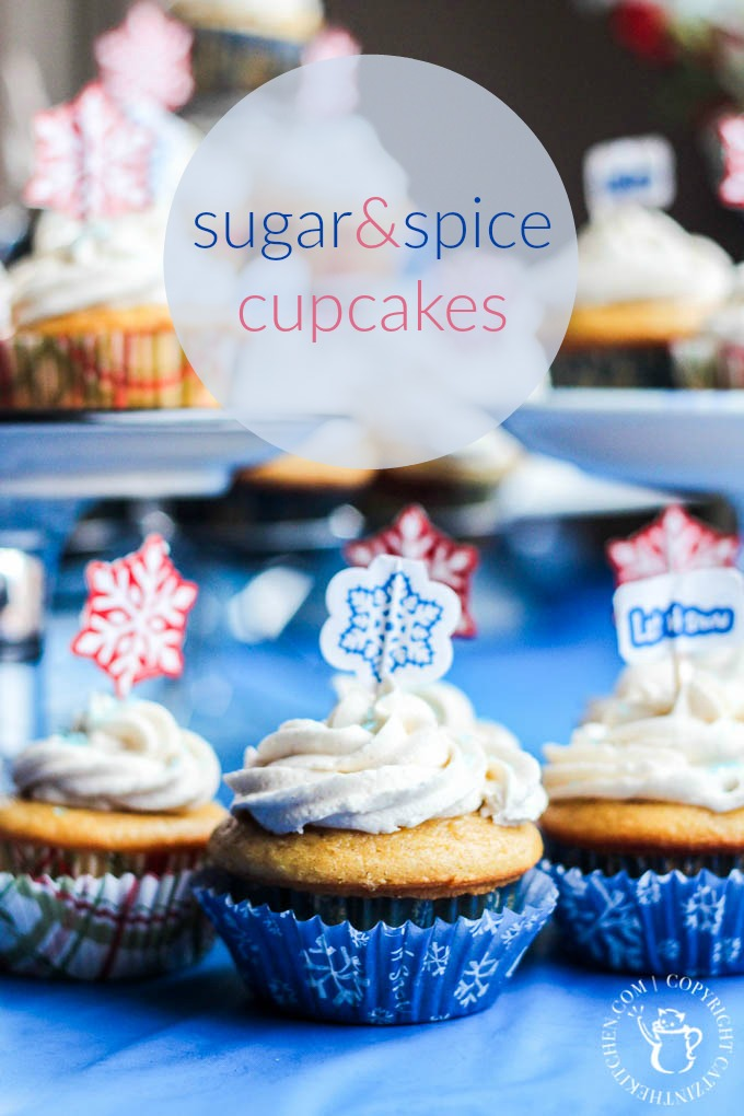 Sugar & Spice Cupcakes | Catz in the Kitchen | catzinthekitchen.com | #cupcakes #baking