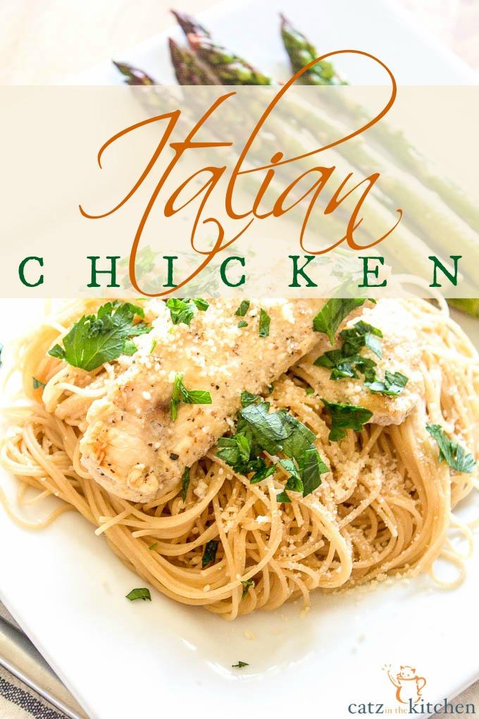 italian chicken with angel hair