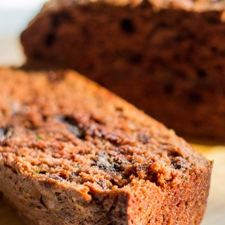 Chocolate Zucchini Bread | Catz in the Kitchen | catzinthekitchen.com | #bread #fall #zucchini