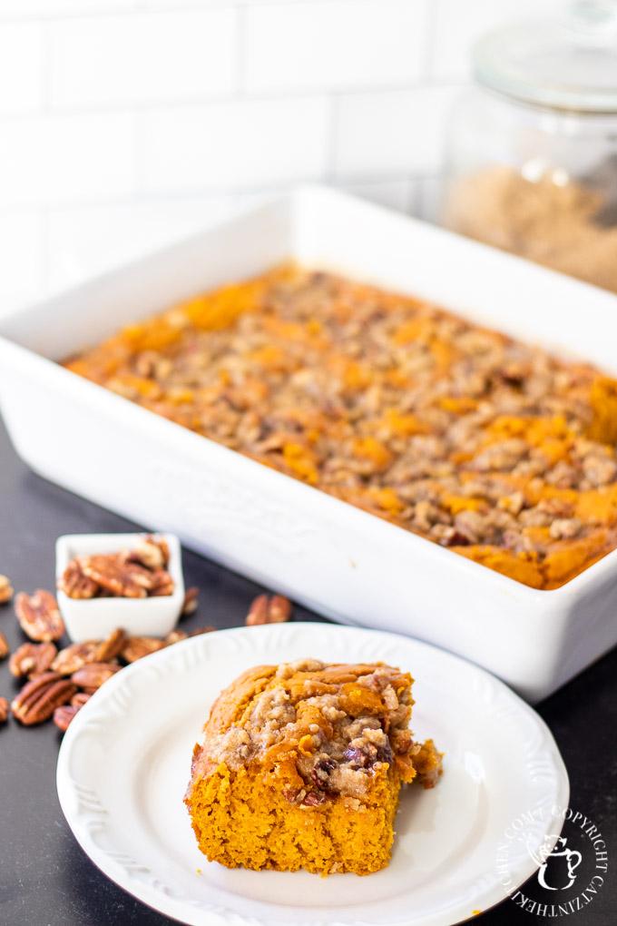 Pumpkin Spice Coffee Cake with Brown Sugar Glaze-5 - Catz ...
