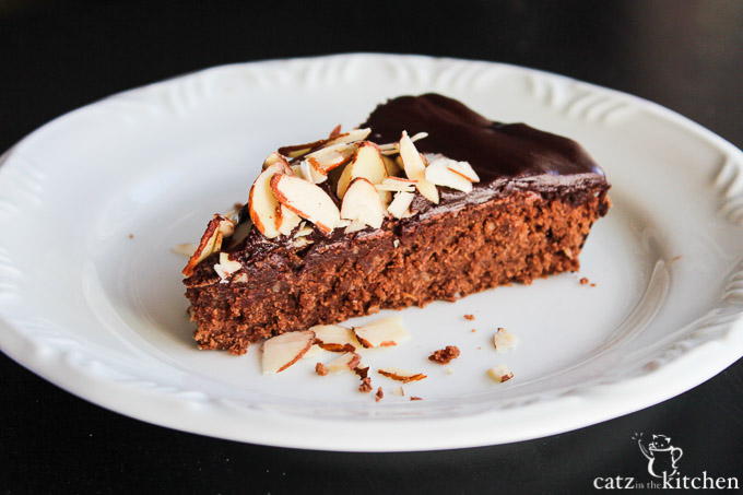Julia Child's Chocolate Almond Cake