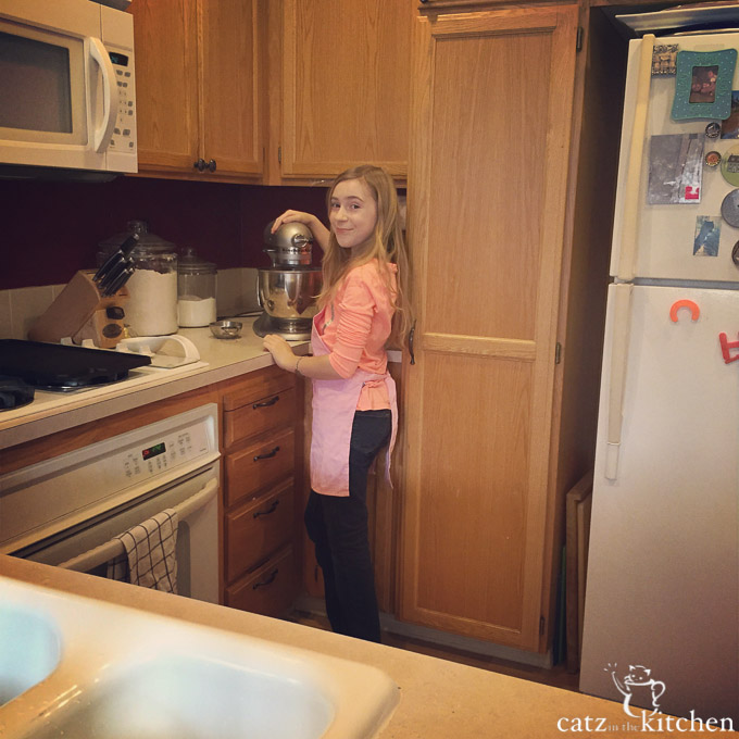 Gracie in the Kitchen