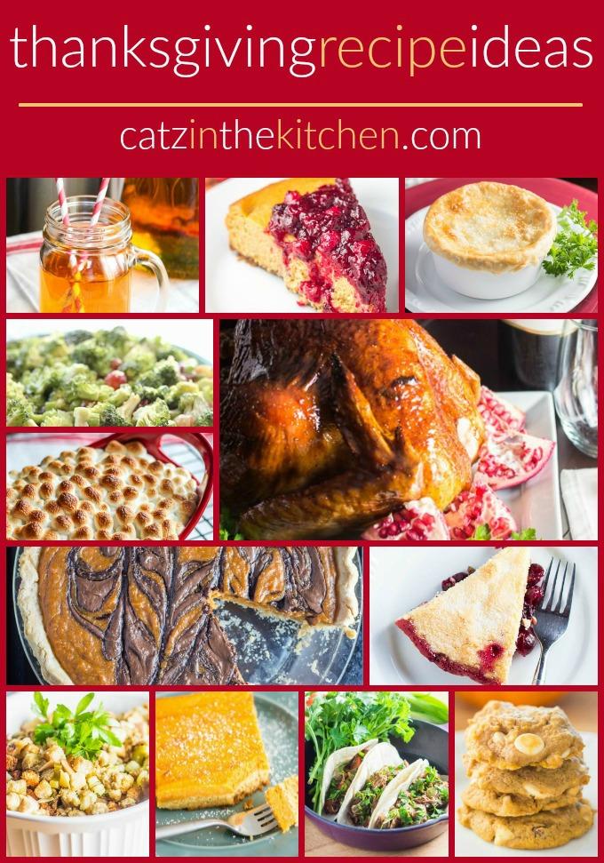 Thanksgiving Recipe Round Up | Catz in the Kitchen | catzinthekitchen.com | #Thanksgiving #recipes