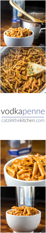 Vodka Penne | Catz in the Kitchen | catzinthekitchen.com | #penne #vodka #pasta
