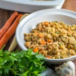 Healthy, easy, and comforting, this simple winter cassoulet is a classic dish from the south of France easily adapted to dairy or gluten-free diets!