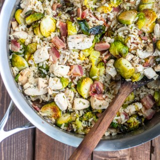 Whether you top this bacon chicken ranch skillet with regular or avocado ranch dressing, this combination of tasty proteins and vegetables is a favorite!